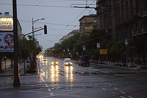Kneza Miloša street - Image: Bělehrad, Kneza Miloša
