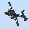 B-25J Mitchell high bank 80th.JPG