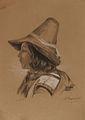 B. Bergmann - Portret dečka s klobukom.jpg