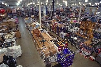 Warehouse club - A BJ's Wholesale club in Virginia