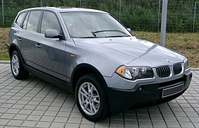 280px BMW_X3_front_20080524 bmw x3 wikipedia  at mifinder.co