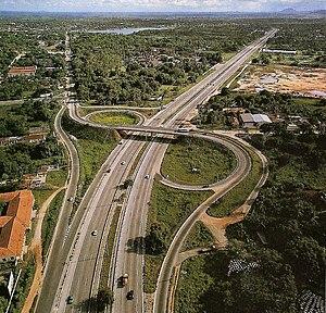 BR-116 - Image: BR116 Viaduto em Fortaleza