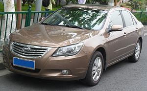 BYD G6 - Image: BYD G6 01 China 2012 05 01