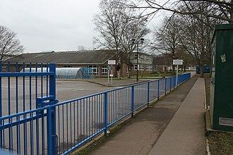 Backwell School - The main gates