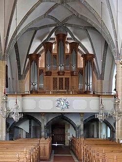 Bad Aussee - Kirche St. Paul, Orgel.JPG