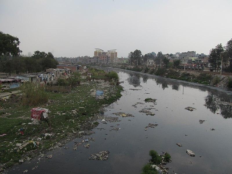 Kathmandu's river