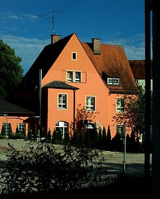 Grafing–Wasserburg railway - Wasserburg Stadt station building