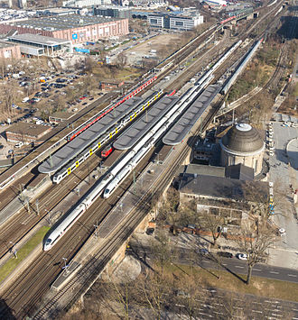 Köln Messe/Deutz station - Overview of Köln Messe/Deutz station