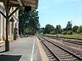 Bahnhof Weischlitz, Strecke nach Oelsnitz (Vogtl) und Stellwerk (1).jpg
