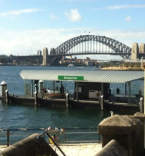 Balmain East, New South Wales - Balmain East Wharf