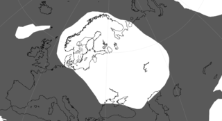 Baltica Late-Proterozoic to early-Palaeozoic continent