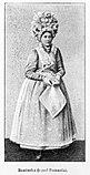 Bamberka w odświętnym, tradycyjnym stroju - Wielkopolska - 004077n.jpg