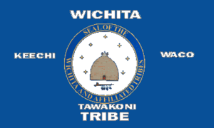 Wichita people - Image: Bandera Wichita