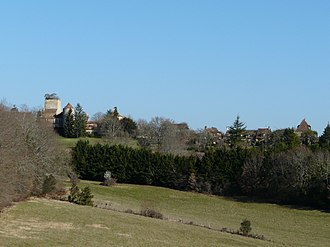 Baneuil - Image: Baneuil village