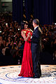 Barack and Michelle Obama dance at the 2013 inaugural ball.jpg