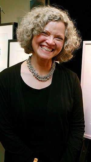 Barbara McClintock (illustrator) - McClintock in 2011, posing at an event in New York.