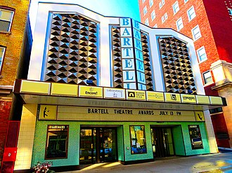 Bartell Group - The Bartell Theatre in Madison, Wisconsin, here seen in 2013, is named after Gerald Bartell.