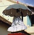 Bartholomäus Ziegenbalg monument in Tranquebar, Tamil Nadu, South India.jpg