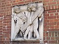 Bas relief panel on Thomas Smith Tait's former house, Wyldes Close - Hampstead Way, NW11 - geograph.org.uk - 2316334.jpg