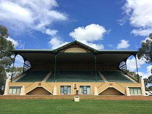 Kensington Oval, Adelaide - Image: Basil and Rex Sellers Pavilion