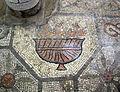 Basilica di aquilieia, museo e scavi , mosaico con animali, funghi.JPG