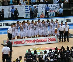 buy popular 18433 f5f07 Greece national basketball team - Wikipedia
