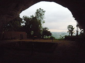Fa Hien Cave - The cave entry