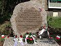 """Batalion AK """"Parasol"""" - miejsce upamiętniające walkę o Pałacyk Michlera i Młyny.JPG"""