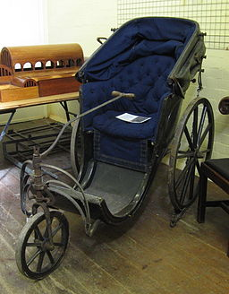 Bath chair, St John's Museum Store