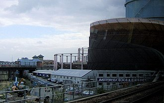 Battersea - Battersea Dogs home (with gasworks alongside)