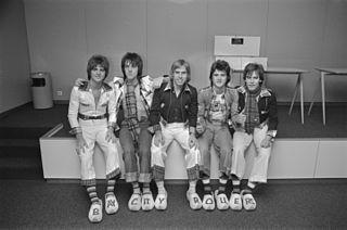 Bay City Rollers Scottish pop rock band
