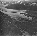 Bear Glacier, terminus of valley glacier with dark medial moraines, September 4, 1977 (GLACIERS 6900).jpg