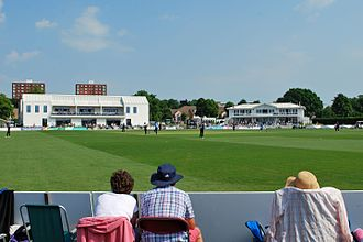 County Cricket Ground, Beckenham - Image: Beckenham buildings 2