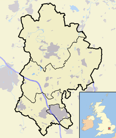 1999 Mid Bedfordshire District Council election is located in United Kingdom Bedfordshire 1974-2009