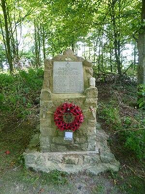 RAF Zeals - Memorial at the crash site of Dakota III TS436, crashed 19 February 1945