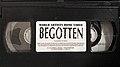 Begotten (1995 World Artists Home Video VHS).jpg