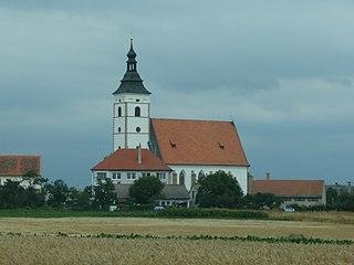 Běhařovice Městys in South Moravian, Czech Republic