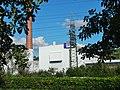 Beim 366 km langen Neckartalradweg, Ein EnBW Kraftwerk - panoramio.jpg