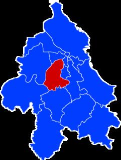 Čukarica Municipality in Belgrade, Serbia