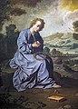 Bemberg Fondation Toulouse - L'enfant Jésus se blessant avec une couronne d'épines dans un paysage - Francisco de Zurbarán Inv.1182.jpg