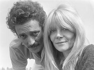 Françoise Brion - Ben Carruthers and Françoise Brion in 1967