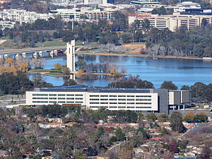Australian Security Intelligence Organisation - ASIO's New Central Office building in the Parliamentary Triangle, Canberra