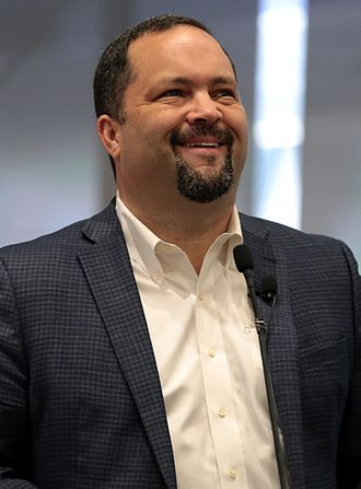 People's Climate March (2017) - The event in Hagerstown, Maryland was organized by Benjamin Jealous (pictured in 2017), former president and chief executive offer of the National Association for the Advancement of Colored People (NAACP).