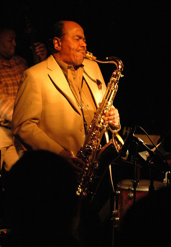 Photo Benny Golson via Wikidata