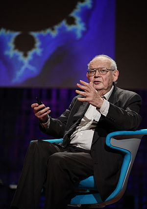 Benoit Mandelbrot - At a TED conference in 2010.