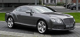 Bentley Continental GT (II) – Frontansicht (5), 30. August 2011, Düsseldorf.jpg
