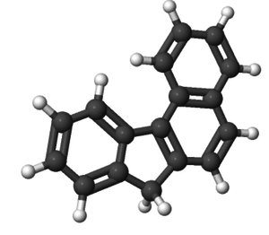 Benzo(c)fluorene - Image: Benzocfluorene 3D structure