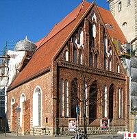 Berlin, Mitte, Spandauer Straße, Heilig-Geist-Kapelle 01.jpg