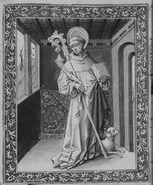 Bernard von Clairvaux, von Jean Le Tavernier, 1450 (Quelle: Wikimedia)