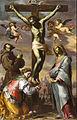 Bernardino Mei - Crucifix with the Virgin and Saints Francis and Agatha - Google Art Project.jpg